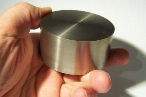 Zylinder aus Reintitan