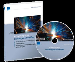 "Produktbild des WEKA E-Learning-Kurses ""Lichtbogenschweißen"""