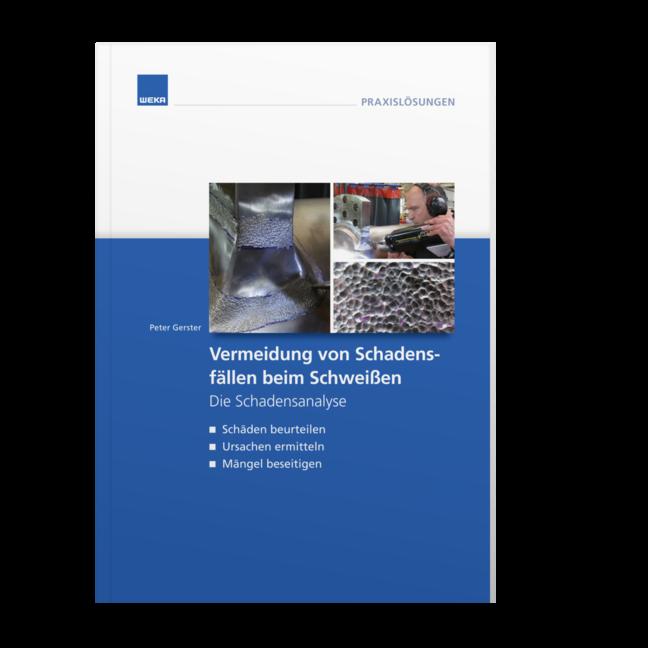 Produktabbildung WEKA Fachbuch Vermeidung von Schadensfällen beim Schweißen
